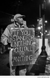 If You Stand For Nothing