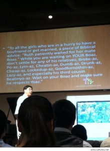 Funniest Biblical Quote Ever